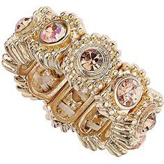 Peach Stone Stretch Ring...dorothyperkins.com