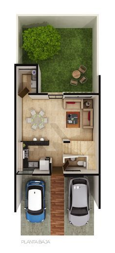 Small but intelligent house in a growth area in the city of Puebla, México.