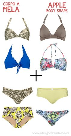 Best bikini forse the apple body shape