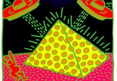 Keith Haring  Fertility  info@guyhepner.com www.guyhepner.com  #keithharing