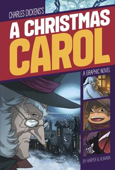 A Christmas Carol (Graphic Revolve: Common Core Editions): Benjamin Harper, Charles Dickens, Dono Sanchez Almara: 9781496503787: Amazon.com: Books