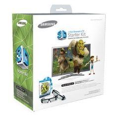 Samsung Shrek Starter Kit - Black (Compatible with 2010 TVs) (Electronics) 3d Tvs, Help The Environment, Network Solutions, Digital Signage, Shrek, Electronics Gadgets, Samsung Galaxy S5, Starter Kit, Smartphone