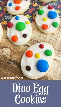 Dino Egg Cookies - T