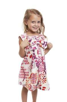 Cavelle Kids - Spring Print Harp Dress, $35.45 (http://www.cavellekids.com/clothing/jane/floral-print-harp-dress/)
