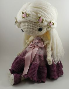 Victoria Amigurumi Doll Crochet Pattern PDF by CarmenRent on Etsy