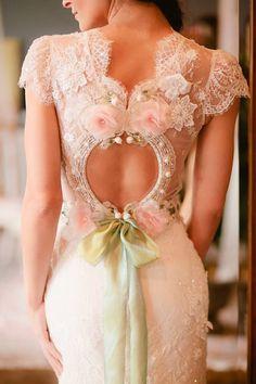 Beautiful unique wedding dress