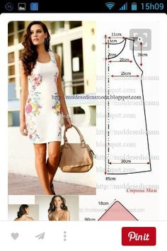We have a ton of printable sewing patterns and we promise to keep adding more! 45 Free Printable Sewing Patterns is sure to hold your next project. Fashion Templates to make an easy-sew dress Ropa veraniega: ideas y patrones El patrón del vestido veranie Free Printable Sewing Patterns, Dress Sewing Patterns, Free Sewing, Clothing Patterns, Simple Sewing Patterns, Dress Pattern Free, Sewing Ideas, Sewing Projects, Simple Dress Pattern