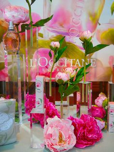 l'occitane peony window, spring 2012 by rosanne maccormick-keen, via Flickr