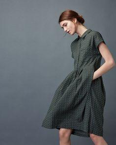 Women's Foulard Shirt Dress
