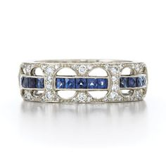 LOVE this thin blue line ring!!