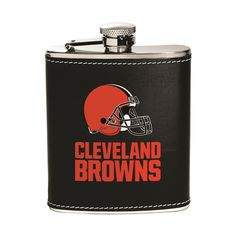Cleveland Browns Flask - Stainless Steel