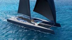 Finnish superyacht yard Baltic Yachts has been named as the official build partner of the 50 metre BlackCat catamaran project Catamaran Design, Catamaran Charter, Sailing Catamaran, Yacht Boat, Yacht Design, Boat Design, Sailing Ships, Baltic Yachts, Classic Yachts