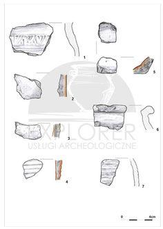 Fragmenty ceramiki naczyniowej