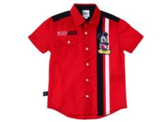 Liverpool es parte de MI vida Toddler Outfits, Baby Boy Outfits, Kids Outfits, Stylish Shirts, Casual Shirts, Overlock Singer, Red A Line Dress, Kids Fashion Boy, Boys Shirts