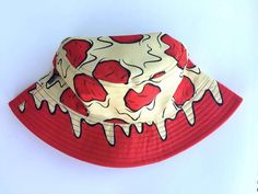 c557a30ff77 Pizza Drip Bucket Hat - Ready to Ship