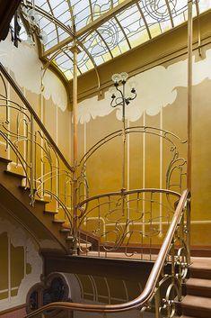 Art Nouveau y Art Deco: Una odisea arquitectónica en Bruselas