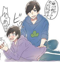 Ảnh Osomatsu-san ( List AUs) - karaichi - Page 3 - Wattpad Osomatsu San Doujinshi, Comedy Anime, Ichimatsu, Chica Anime Manga, Boyxboy, Me Me Me Anime, Anime Characters, Geek Stuff, Fan Art