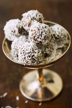 Kokos-Schoko-Pralinen