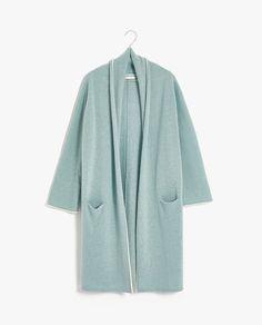 Zara Home, Textiles, Cashmere Cardigan, Duster Coat, Clothes, United Kingdom, Pockets, Winter, Fashion