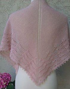 Beautiful pink Holden Shawl