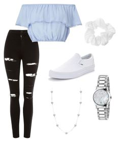 *23 by @kkayyllee on Polyvore & Pinterest featuring polyvore, fashion, style, Miss Selfridge, Topshop, Vans, Mikimoto, Gucci and clothing