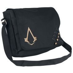 "Borsa a tracolla ""Syndicate - Logo Messenger Bag"" di Assassin Order, Assasins Cred, Now Magazine, Clothing Logo, Geek Gifts, Messenger Bag, Cool Outfits, Cool Stuff, Stuff To Buy"