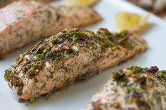 Garlic Dill Salmon: Secret Recipe Club