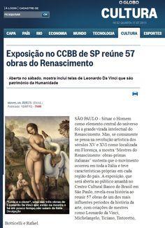 Veículo: site O Globo Online. Clique na imagem para ver a matéria completa.