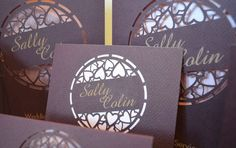 Me and You - fantastically personalised wedding stationery for your special occasion. laser cut wedding invitation