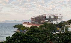 Humanidade 2012 Pavilion, Rio de Janeiro, by Carla Juaçaba. Photography: Leonardo Finotti Read more at http://www.wallpaper.com/architecture/emerging-architects-from-brazil-in-the-spotlight-at-deutsches-architekturmuseum-frankfurt/6703#IorIKGyPQh8UiU0J.99