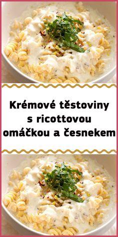 Fusilli, Ricotta, Ethnic Recipes, Food, Diet, Essen, Meals, Yemek, Eten