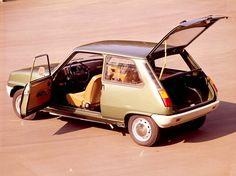 Renault 5 was mij eerste auto die ik heb gekocht.