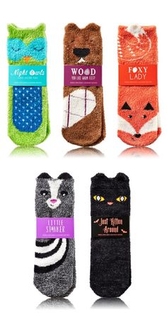 Get Toasty Warm Feet with these Halloween and Fall Socks from Bath & Body Works