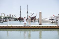 St. Augustine Wedding Photography, St. Augustine Florida elopement, Ashley Steeby photography, florida destination elopement, marin house on the bayfront wedding, galleon ship in st augustine
