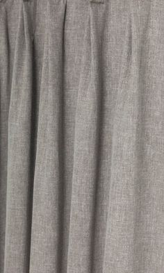 Solid Grey Linen Curtains Custom Size Six Styles
