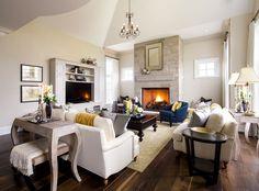 Salle de séjour et chambres familiales | Jane Lockhart Interior Design