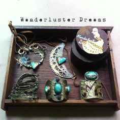 Jewelry box!! Wanderluster Dreams Handcrafted Jewelry By Unny K