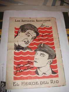 El heroe del rio 1928 .muy raro. sin referencias en todocoleccion . 4 paginas Buster Keaton
