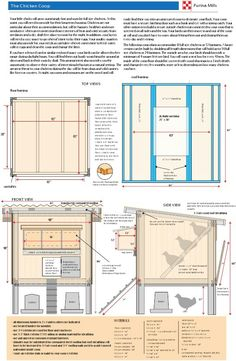 Purina chicken coop plan