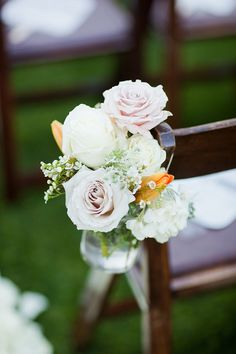 Wedding Ceremony Flowers ~ Andy Rodriguez Photography