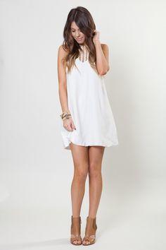 26b3de2a0c7 A cute alternative for a sassy bridal shower dress! http   www.