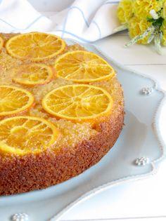 Fabrico Caseiro- bolo invertido laranja