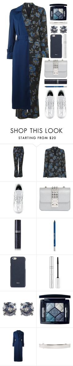"""""""pjs & sneaks"""" by foundlostme ❤ liked on Polyvore featuring Topshop, New Balance, Design Inverso, Lipstick Queen, Urban Decay, Valextra, Zelens, Bottega Veneta, Christian Dior and Twin-Set"""