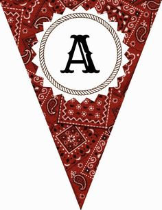 FREE Printable Western-Themed Pennant Banner (includes all letters and numbers) … – bureau Cowboy Birthday Party, Cowgirl Party, Farm Birthday, Toy Story Birthday, Country Birthday, Birthday Ideas, Pirate Party, Happy Birthday, Banner Letters