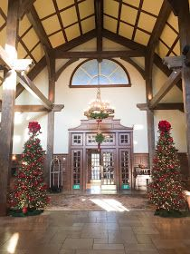 Ritz Carlton Lodge at Reynolds Plantation during Christmas