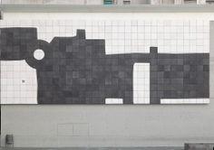 Chillida. Mural Macba Inauguración