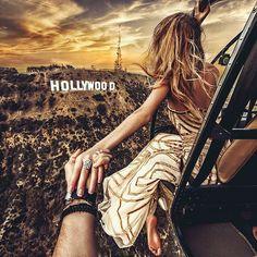 Follow me to Hollywood ... Murad Osmann