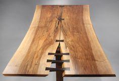 Spectacular Trestle Dining Table by George Nakashima image 3