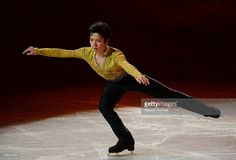 Shoma Uno of Japan performs his routine in the Gala exhibition during All Japan Figure Skating Championships at Saitama Super Arena on December 24, 2013 in Saitama, Japan.