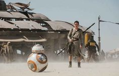 L'actrice Daisy Ridley dans «Star Wars 7».